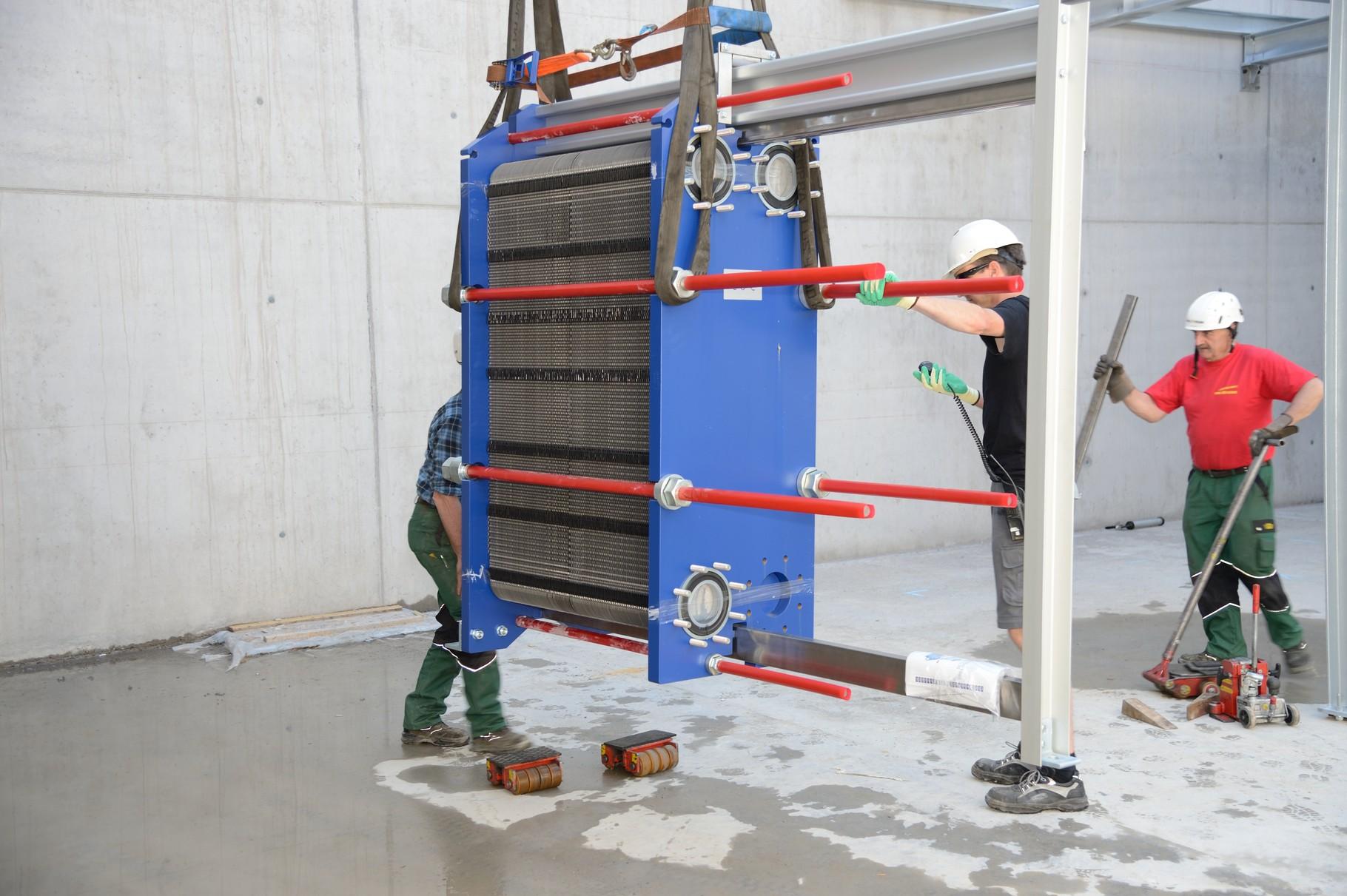 Wärmetauscher Abgas-WRG