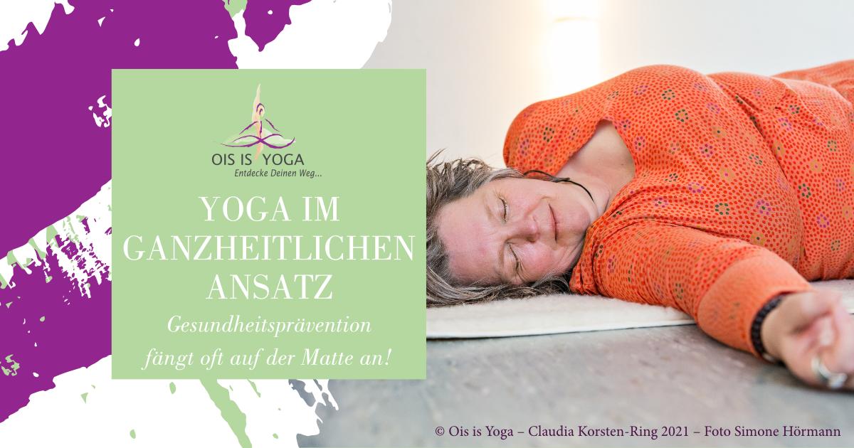 Yoga als ganzheitliches Konzept
