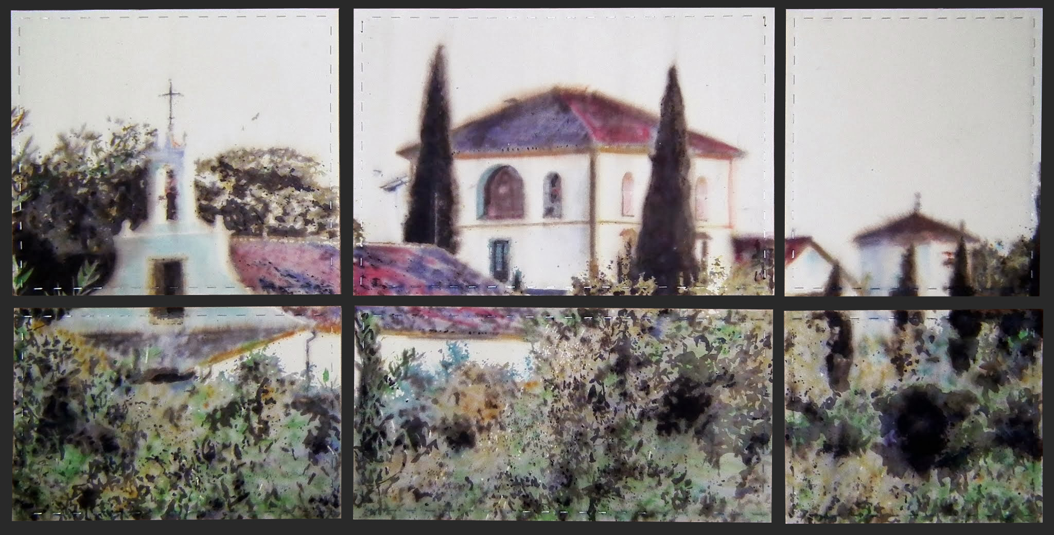 170x90 cm. Acuarela sobre papel Arches 300 gr. Colección particular.