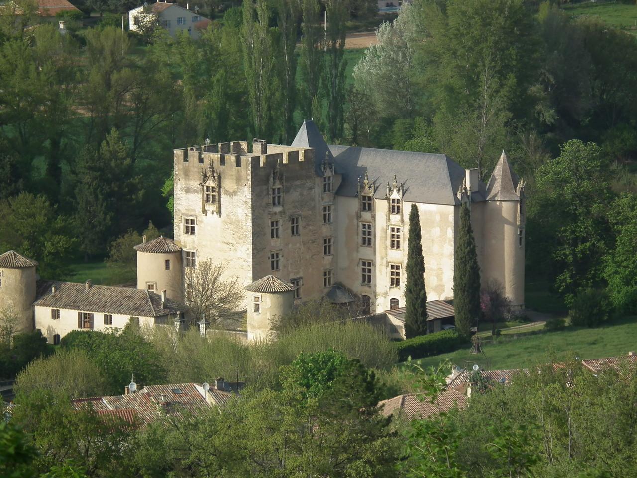 Castillo de Alemagne en Provence.