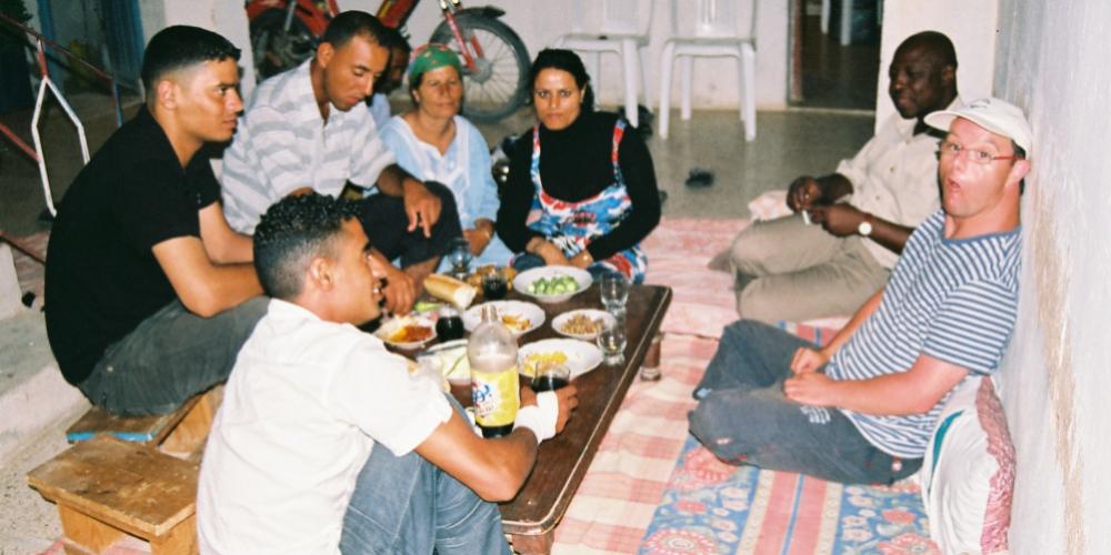 Bienvenue chez Hamed et Ourida