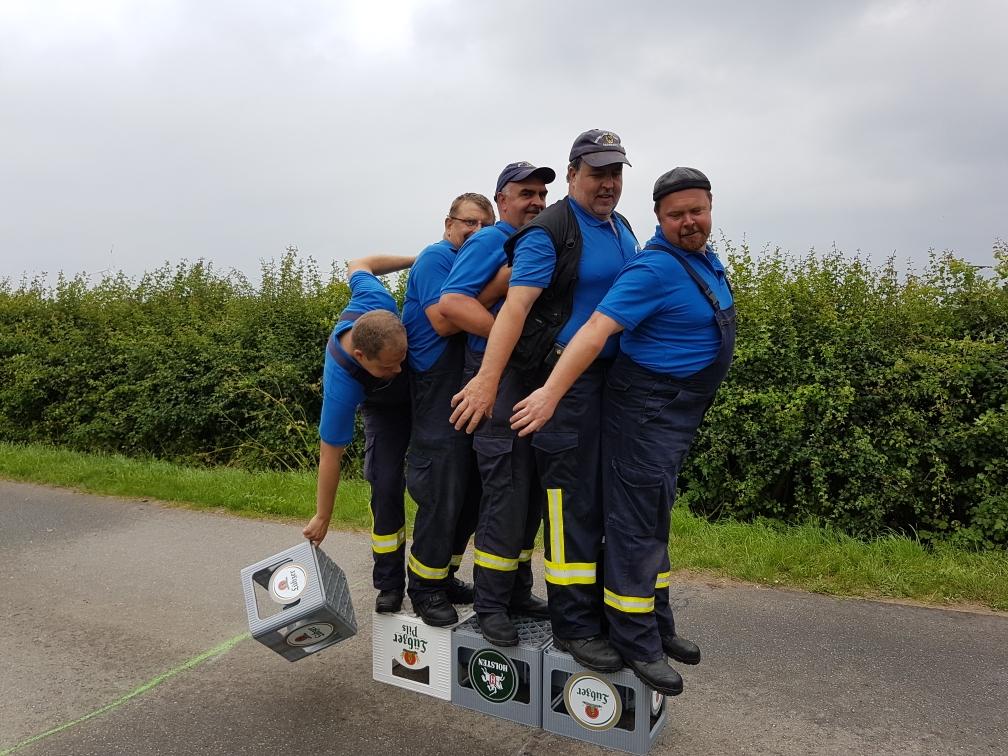 FFW Marnitz II bei dem Kistenlaufen