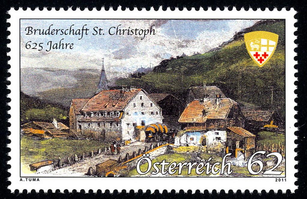 Die Marke - 625 Jahre Bruderschaft St. Christoph. Auflage 300.000 Stück