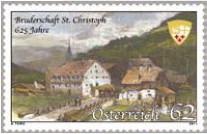 Sondermarke 625 Jahre Bruderschaft St.Christoph