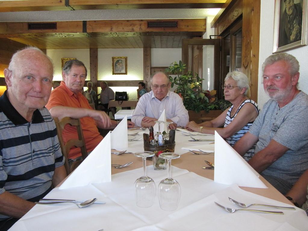 Mittagessen in Altach