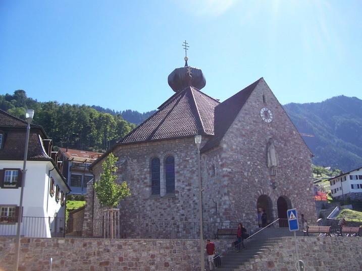 Pfarrkirche St. Josef stammt aus dem Jahre 1940