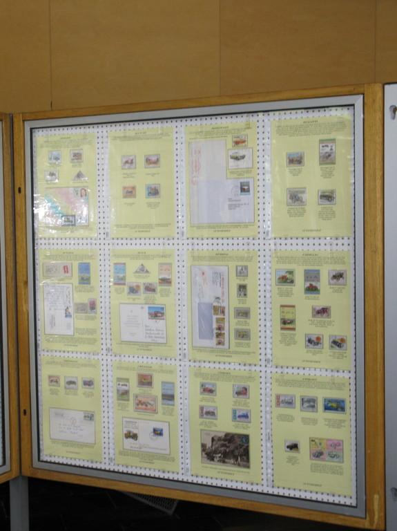 Autos auf Briefmarken