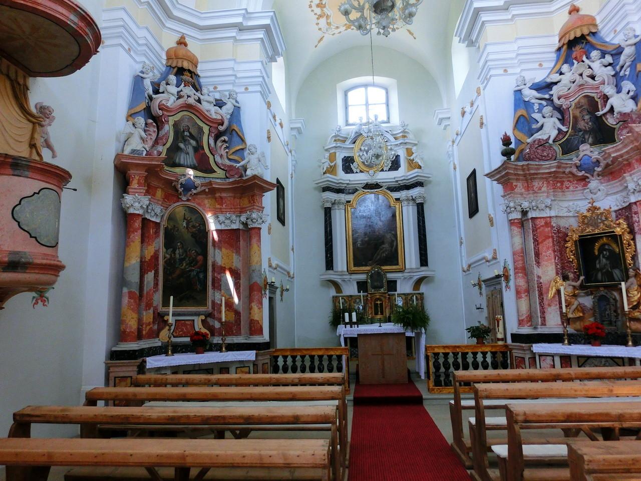 Gleifkirche 1716_Altar, Kalvarienberg Eppan