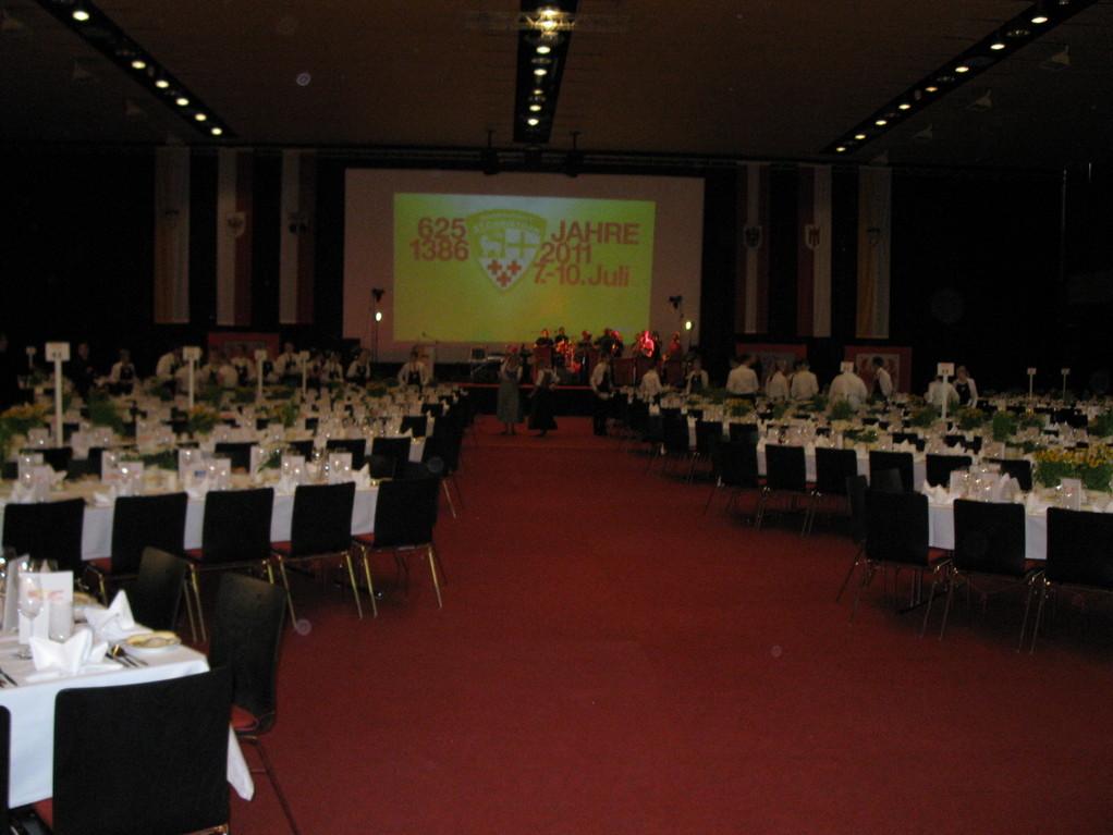 Der Festsaal in St.Anton/Arlberg