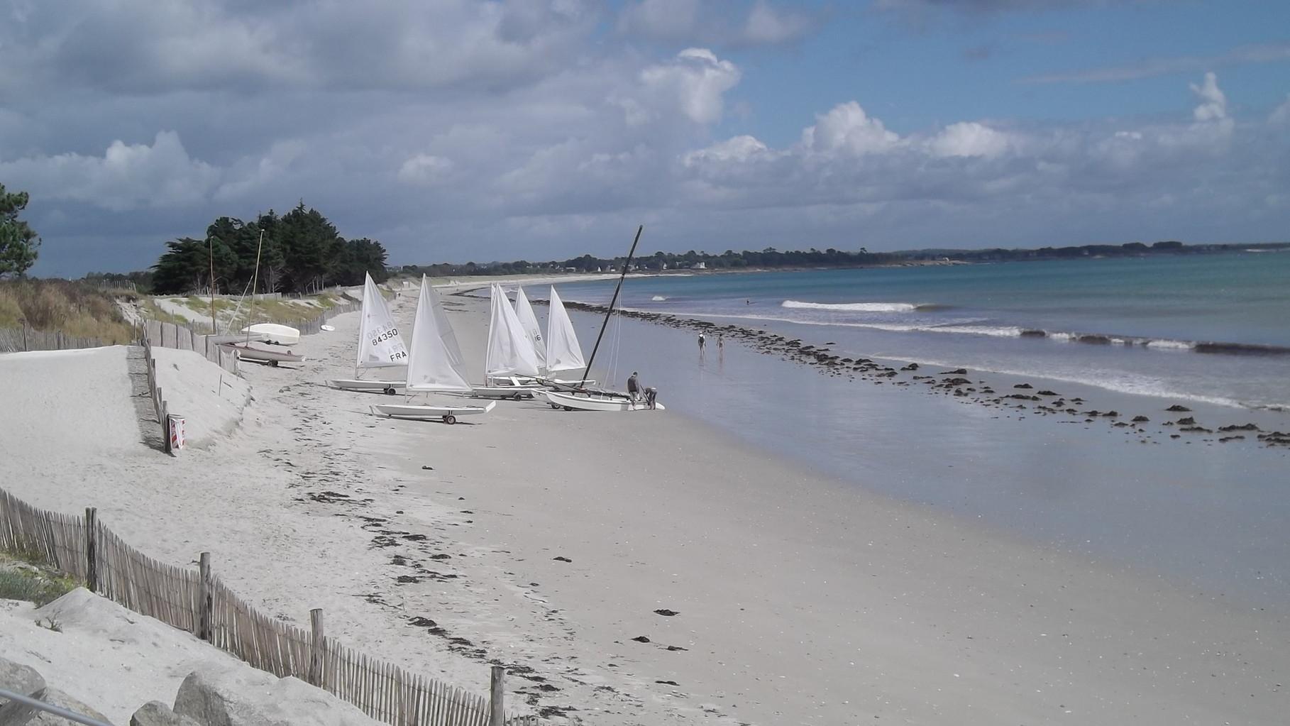 La plage du Treustel