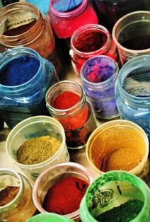 Pigments pour patines, peintures et décors