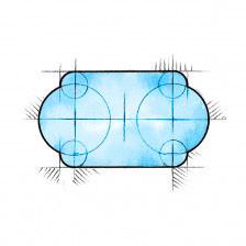 Römisch rund