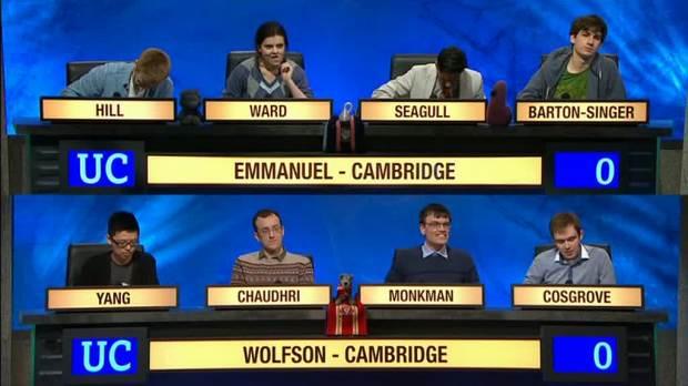 University Challenge un format tv che dura da anni.