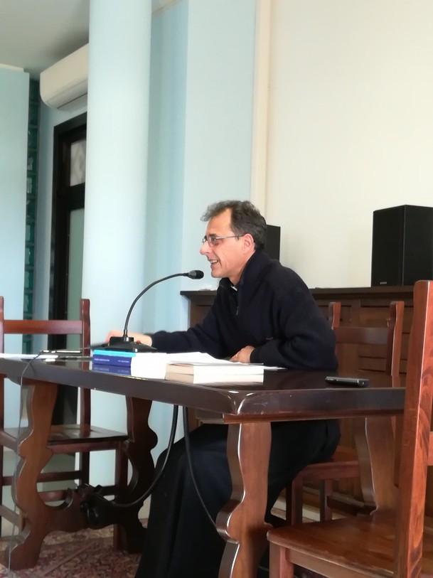 """don Loris R. al convegno su: """"la gioia cristiana"""""""