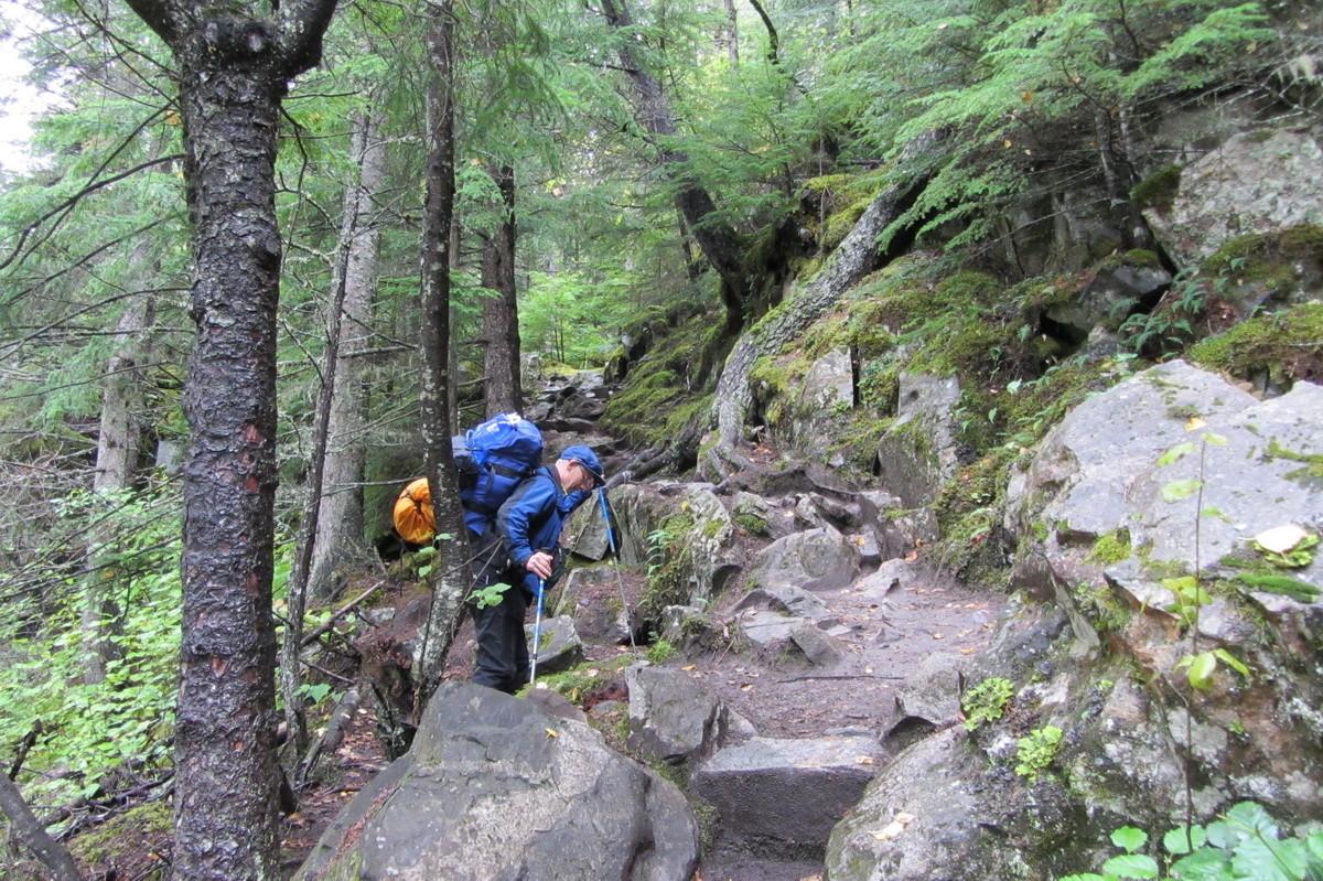 Unterwegs auf dem Chilkoot Trail