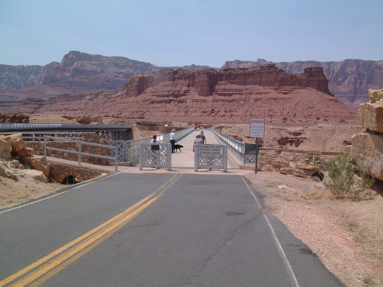 Navajo Bridge am Marble Canyon_1