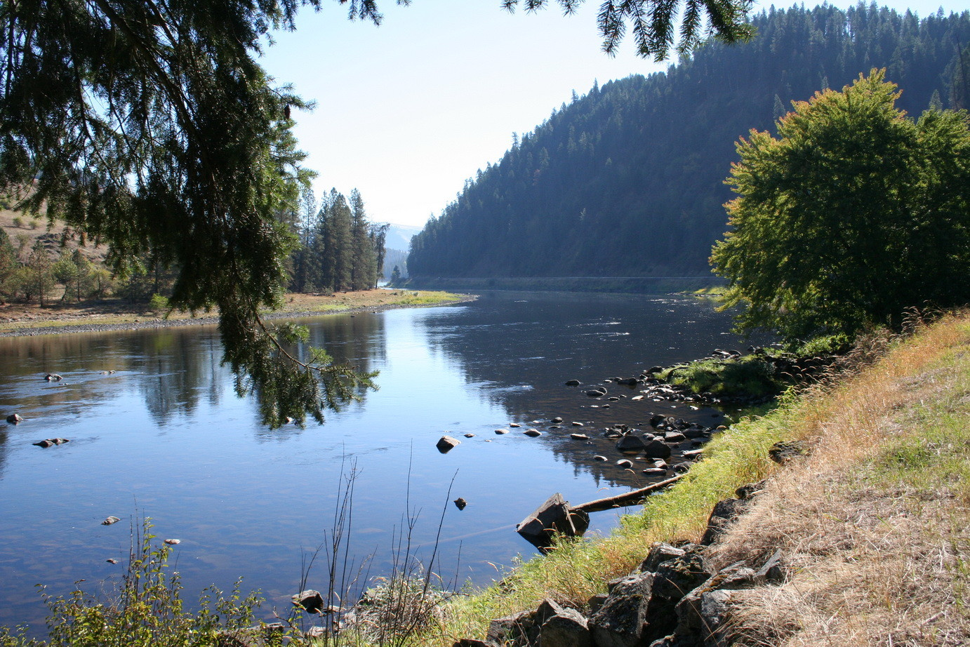 Fluss in Oregon
