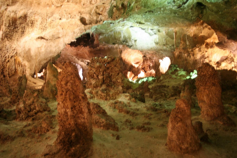 Höhle in den Carlsbad Caverns