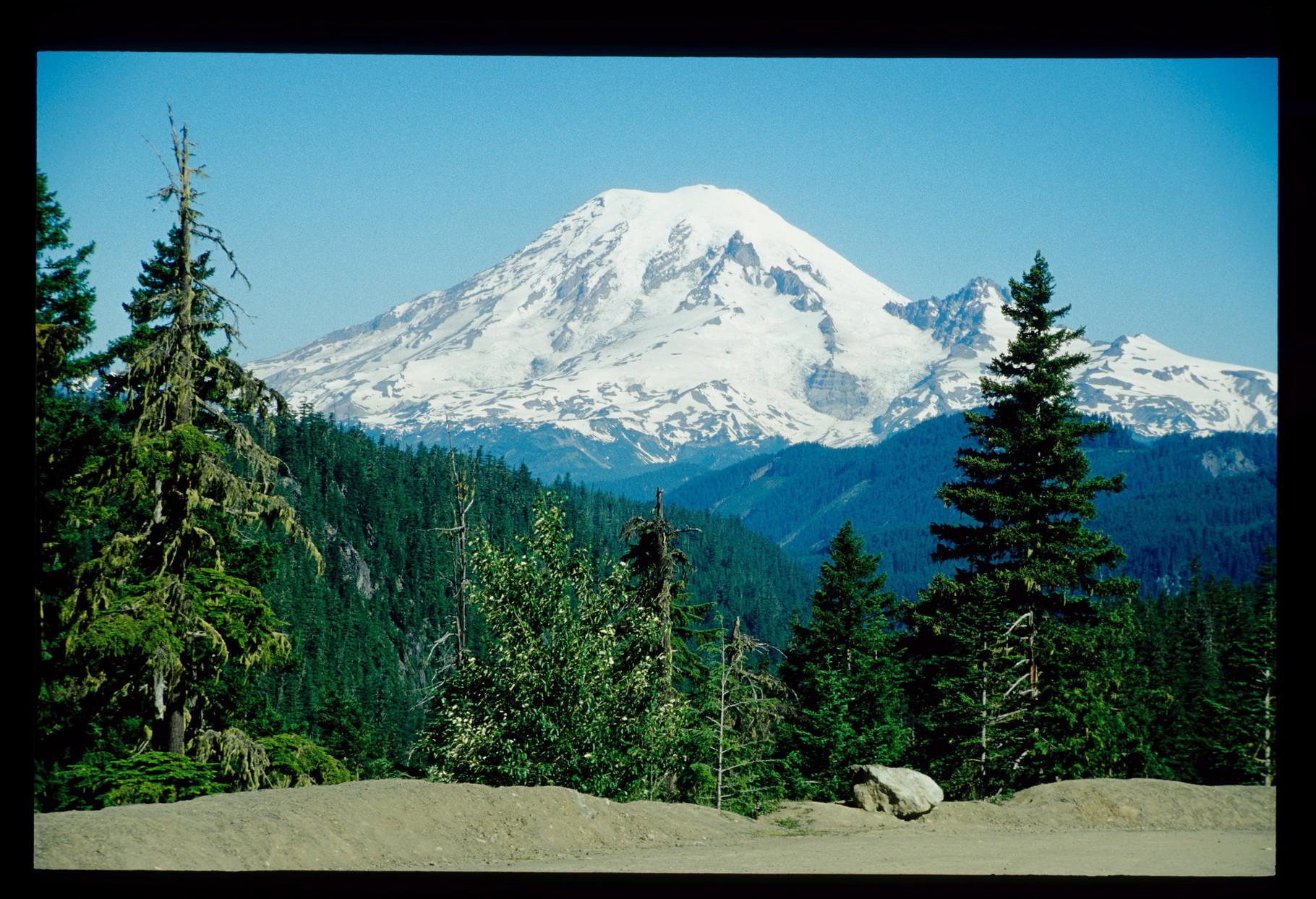Abstecher in die USA zum Mt. St. Helens - hier der Mt. Rainer