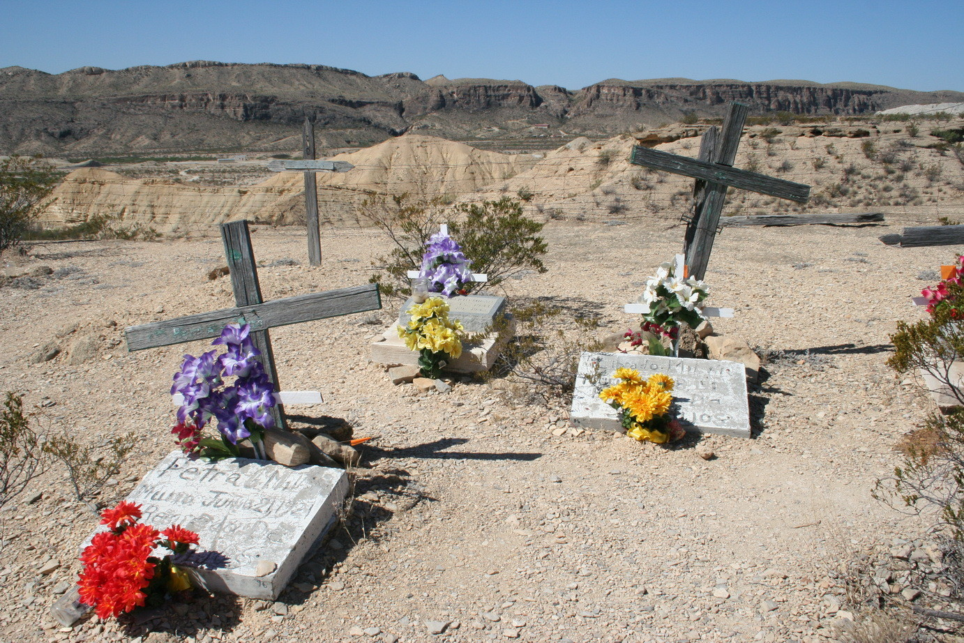 Friedhof in Lajitas