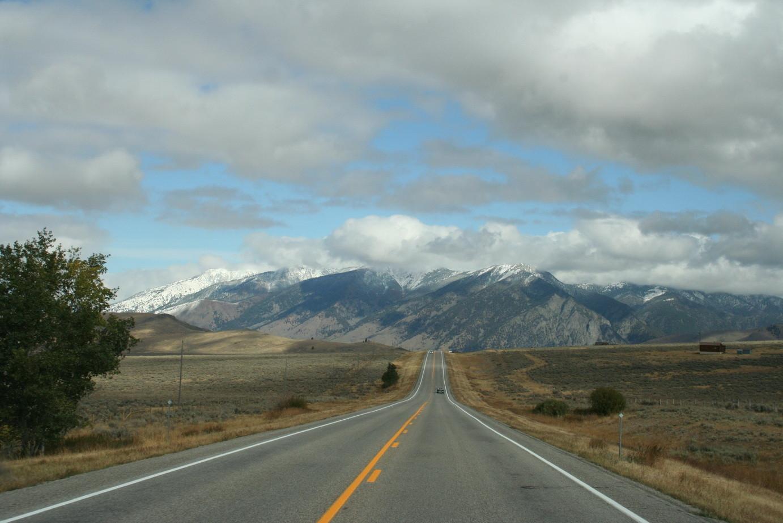 Fahrt Richtung Oregon