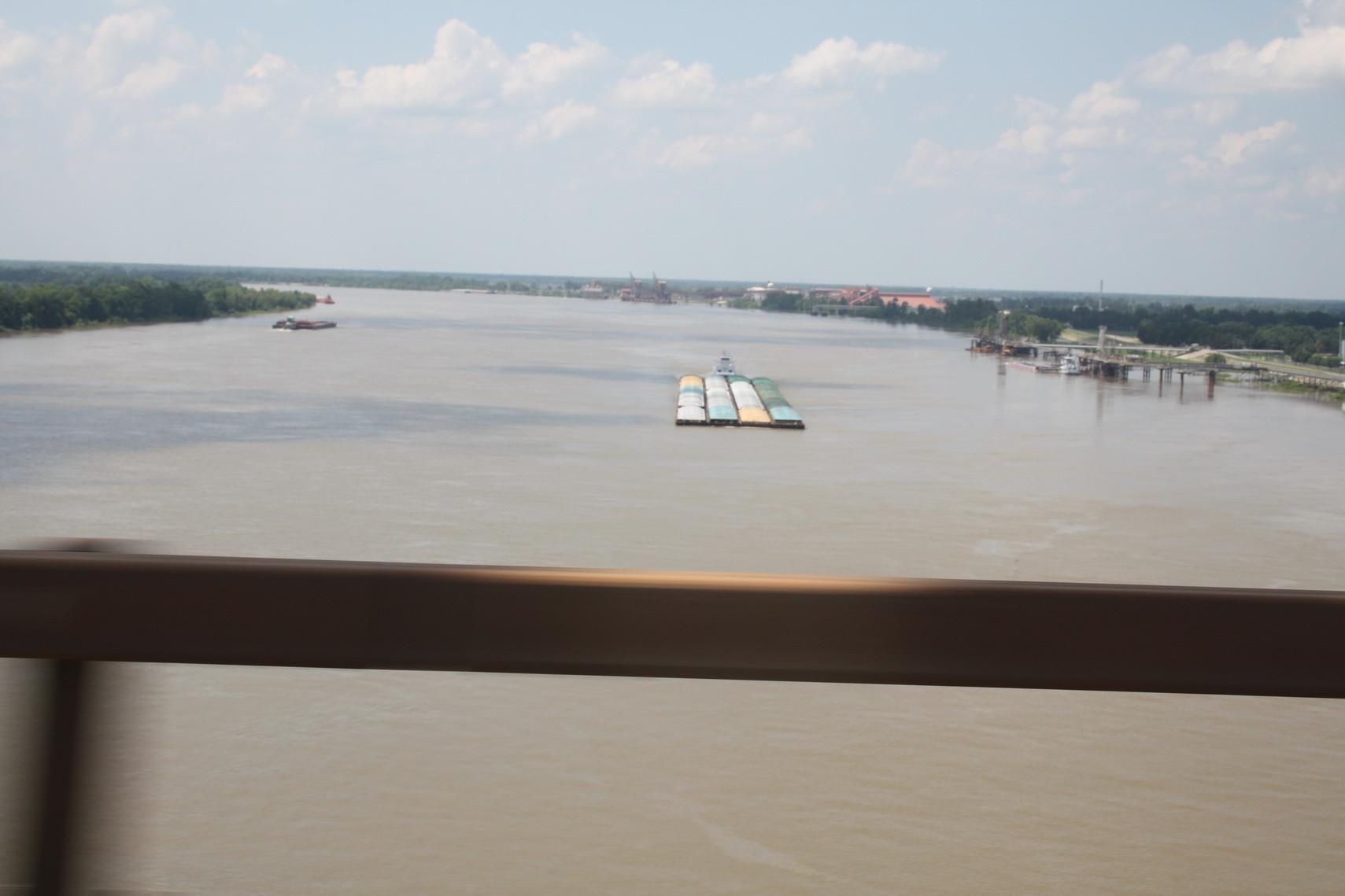 Der Mississippi bei New Orleans