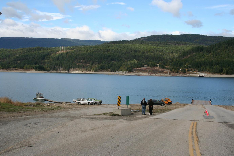 Fährüberfahrt am Arrow Lake