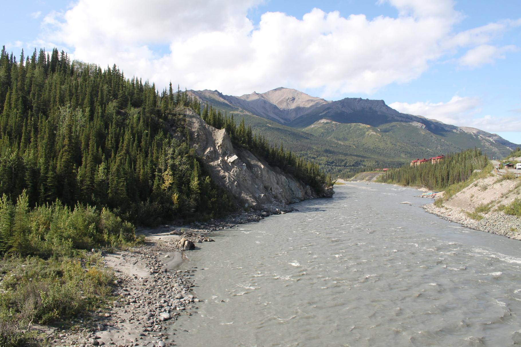 Fluss am Denali Highway