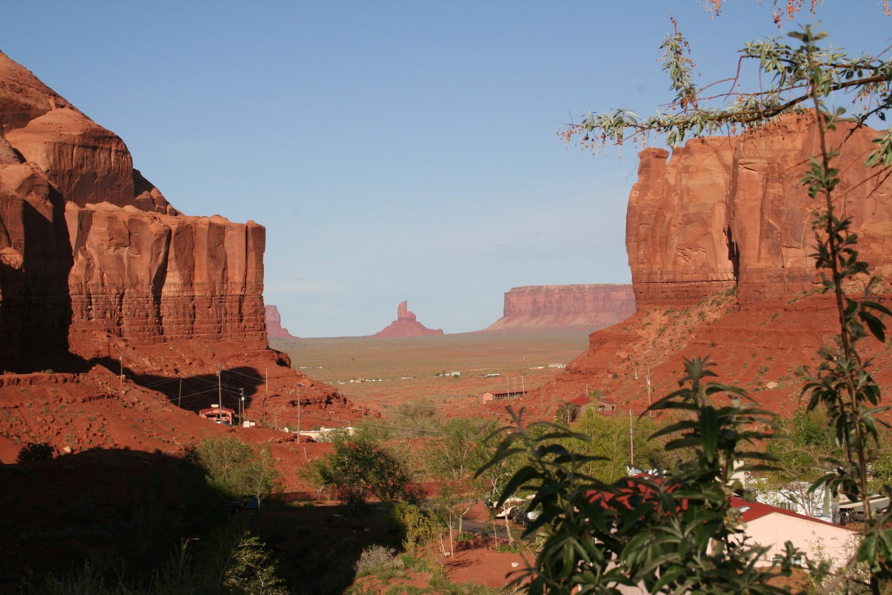 Monument Valley - Blick vom Campingplatz aus