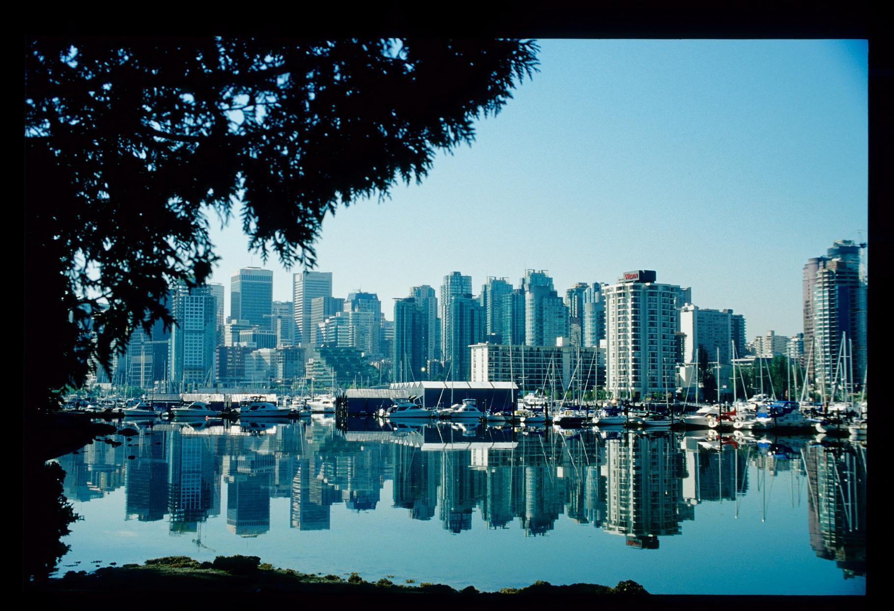 Vancouver - fotografiert vom Staney Park aus