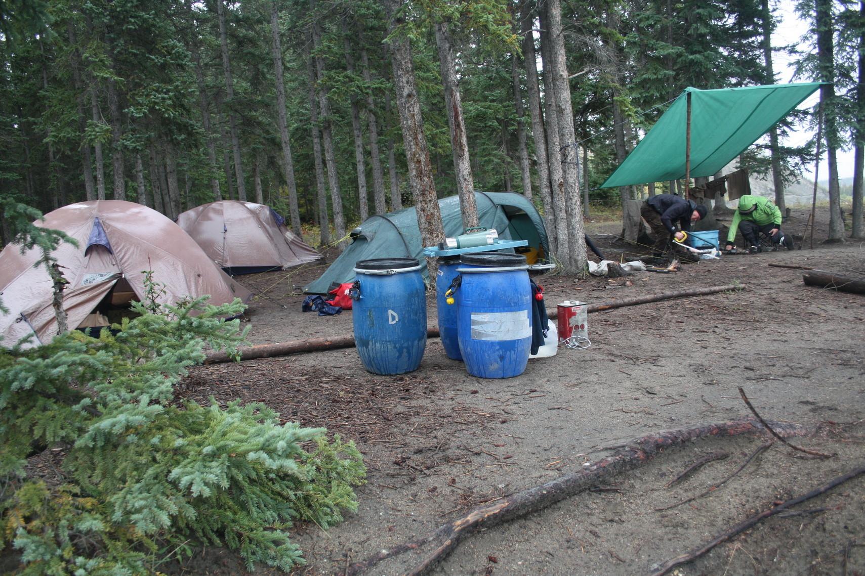 Ein weiteres Camp