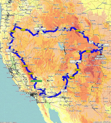 Rundreise USA Süd-West (Colorado - Wyoming - Idaho - Oregon ...