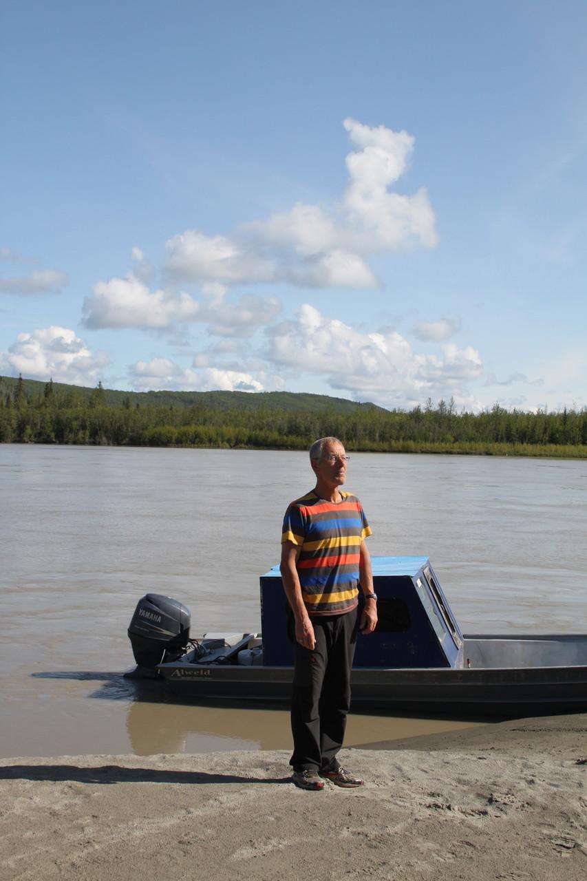 In Nenana am Tanana-River südl. Fairbanks
