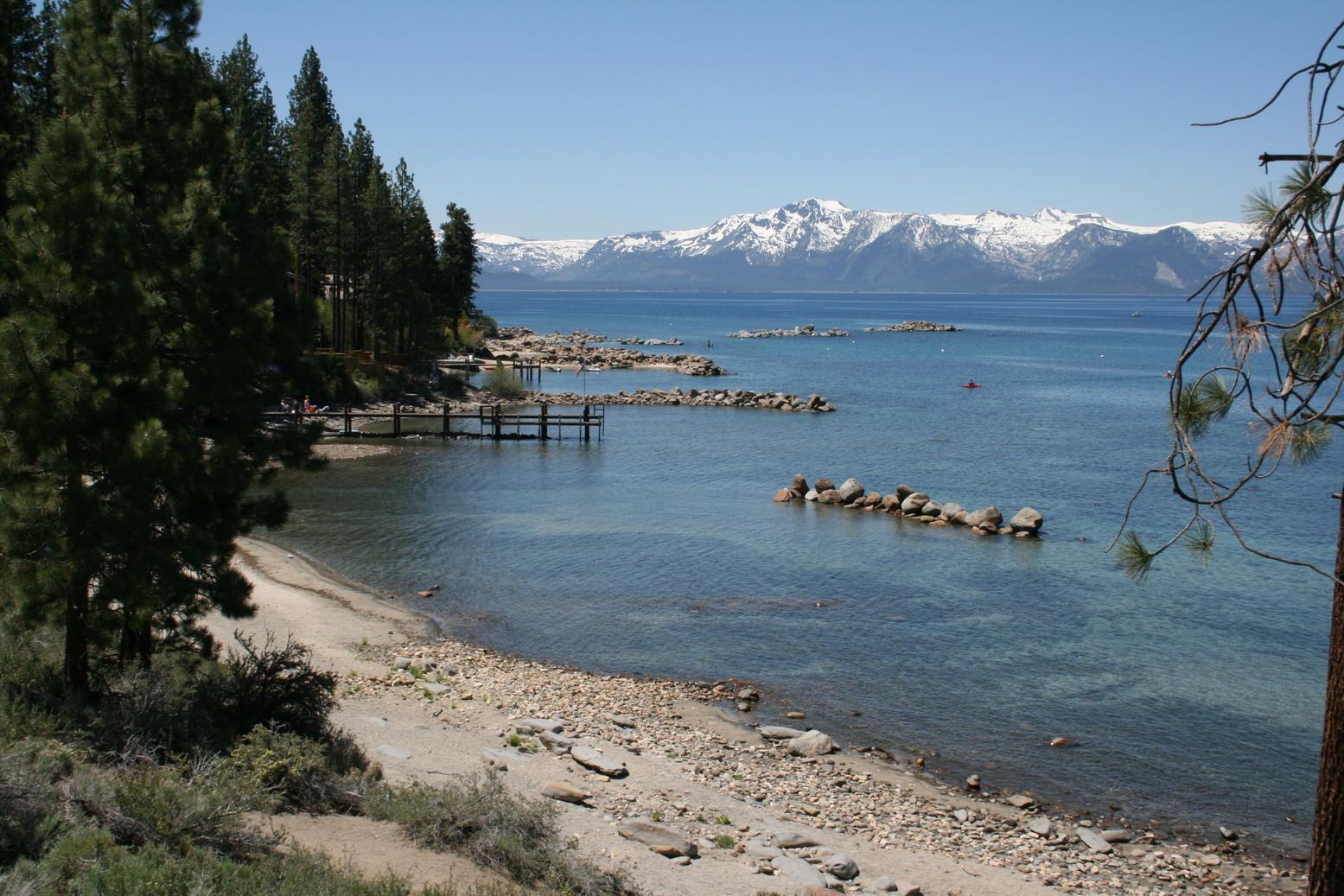 """Der Lake Tahoe (dort wurde in der 60er Jahren der Western """"Bonanza"""" gedreht)"""