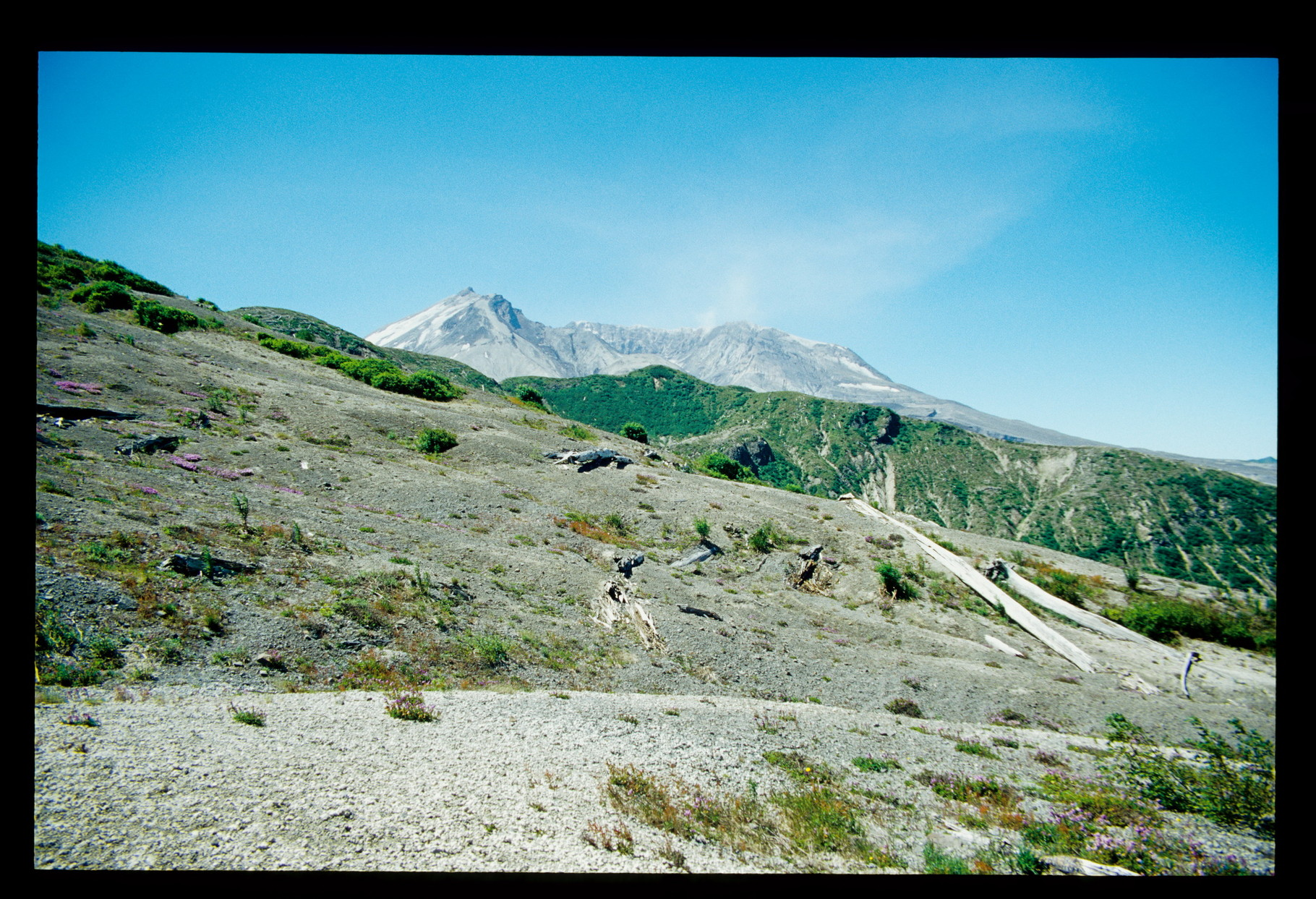Mt. St. Helens - er raucht immer noch.