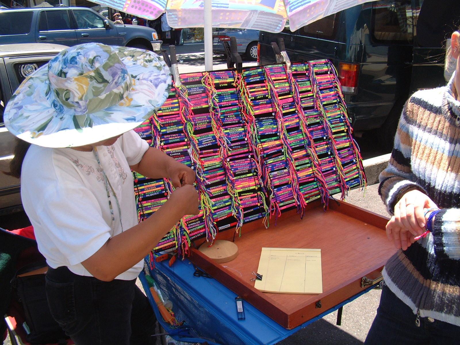 San Francisco_Handgelenksbänder