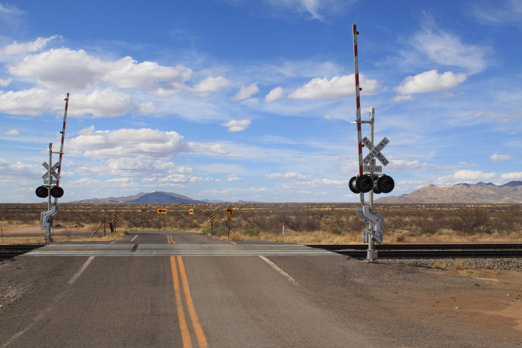 Landschaft ganz nahe der mexikanischen Grenze in Arizona.