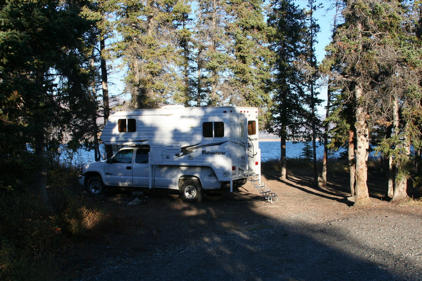 Campground am Kluane Lake