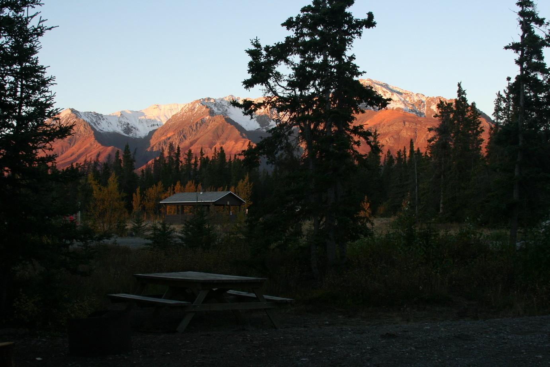 Nahe der Grenze zu Alaska auf dem Highway 1