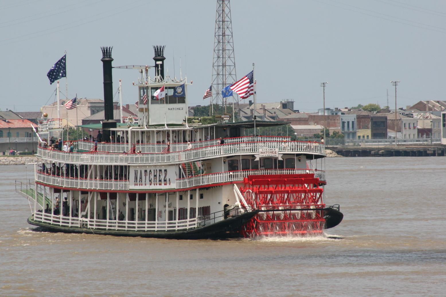 New Orleans V - Schaufelraddampfer