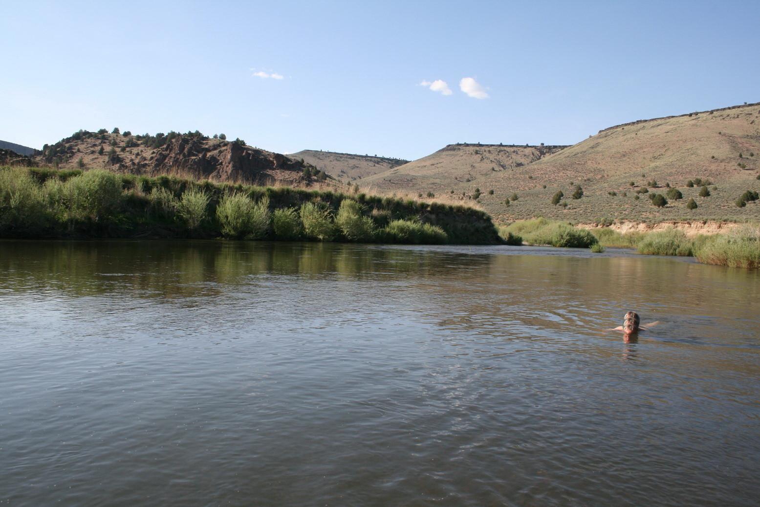 Am Owyhee River bei Boise