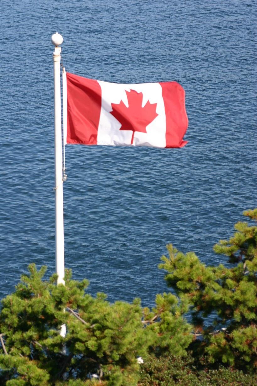 Ja, wir sind hier in Kanada.