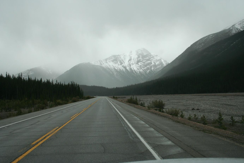 Leider liegt diese schöne Strecke im Nebel