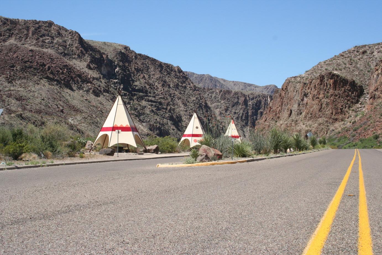 Auf der Fahrt nach New Mexico