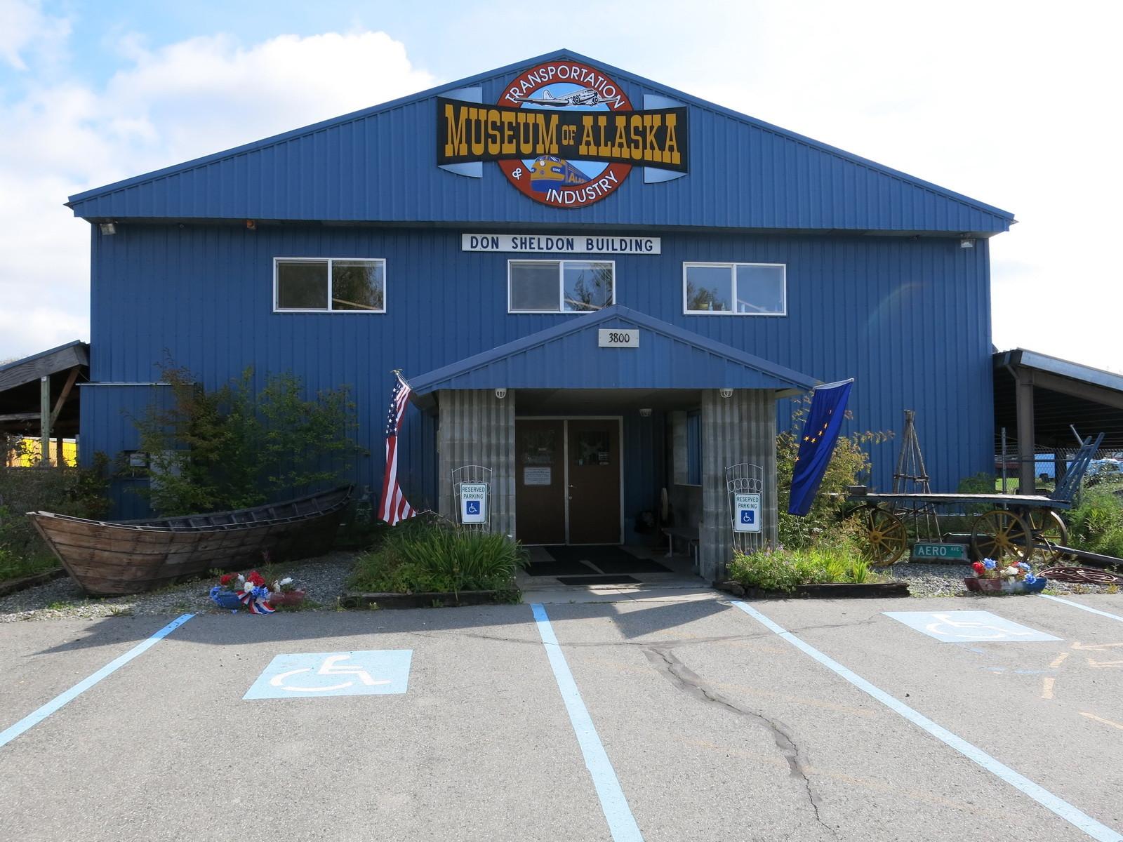 Museum am Denali Highway.