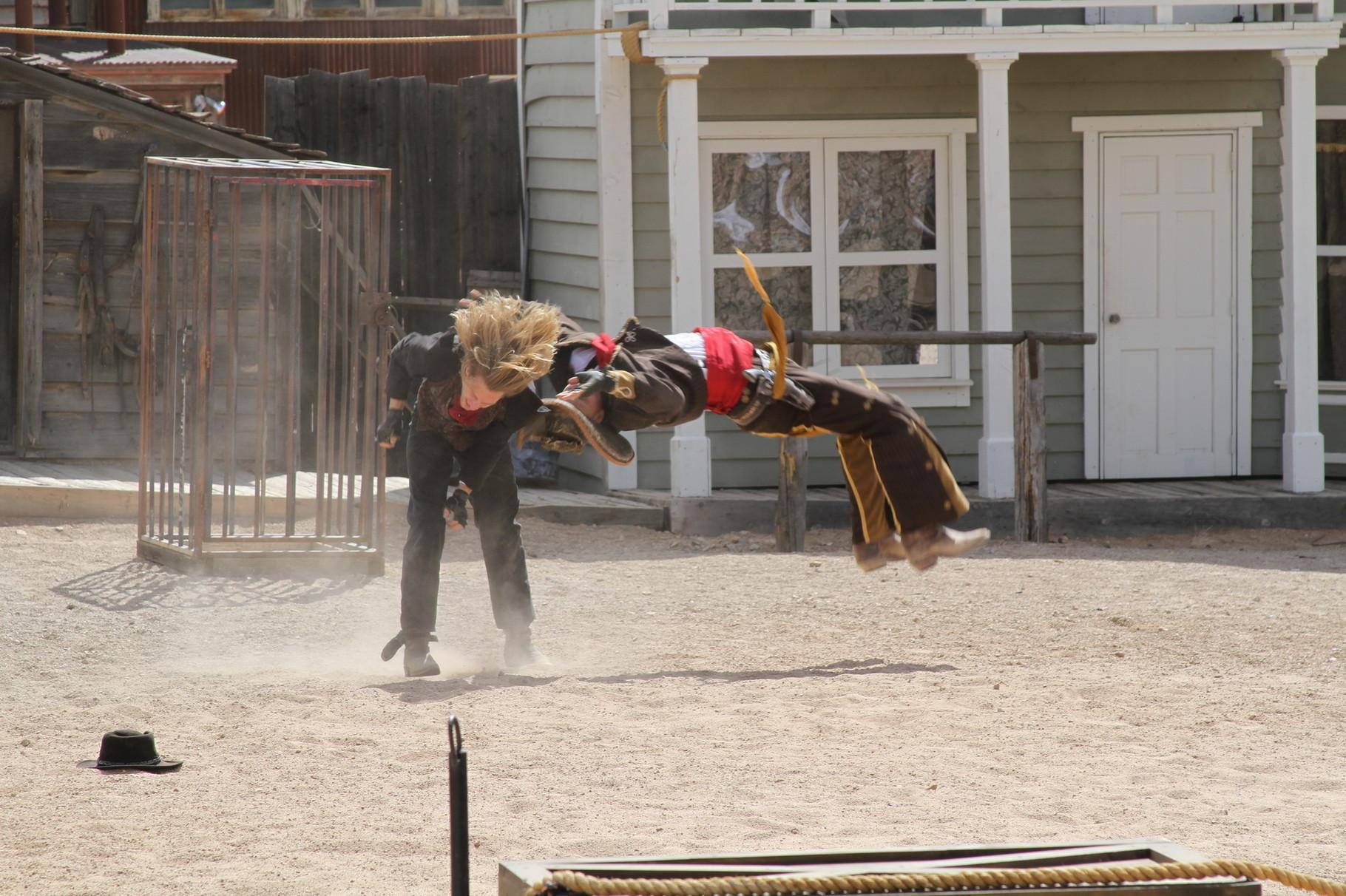 Toller Stunt ....