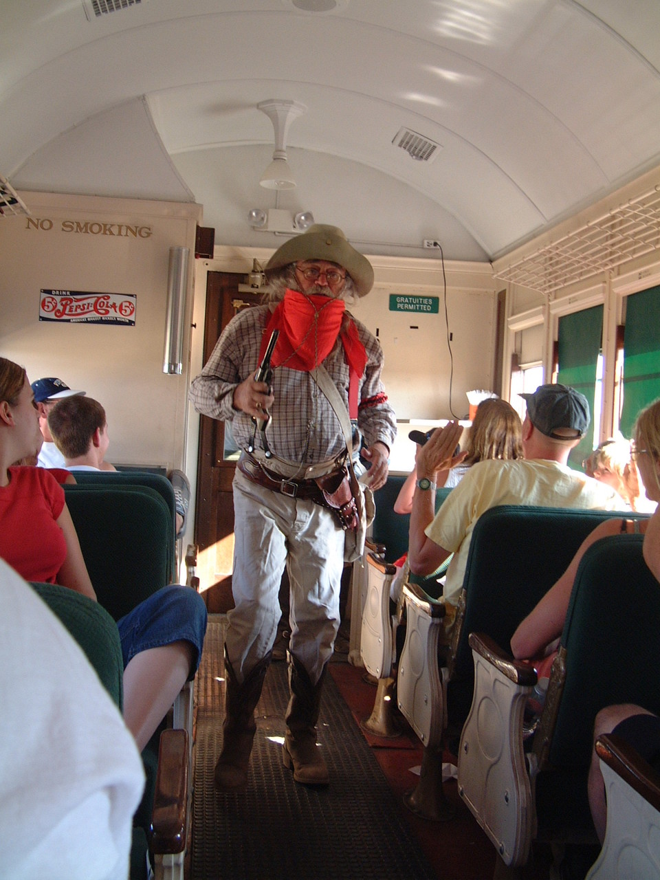 Auf der Zugfahrt von Williams zum Grand Canyon_3