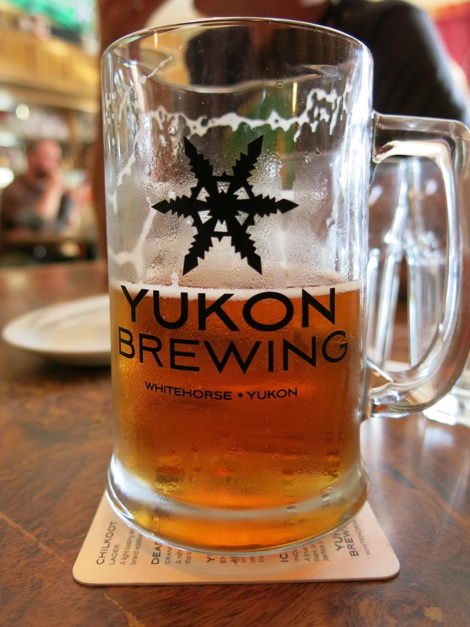 Bier gibt es hier natürlich auch.