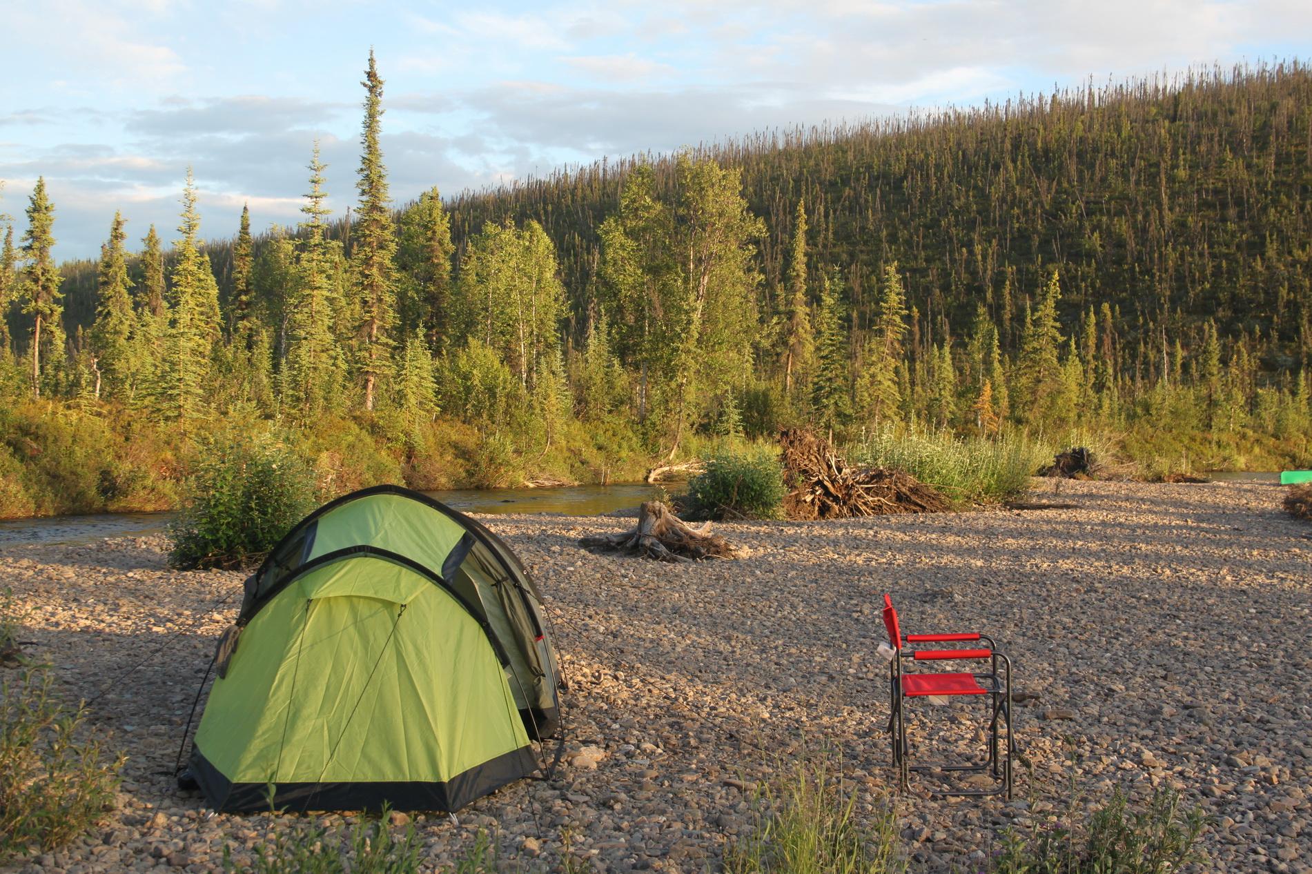 Das erste Lager