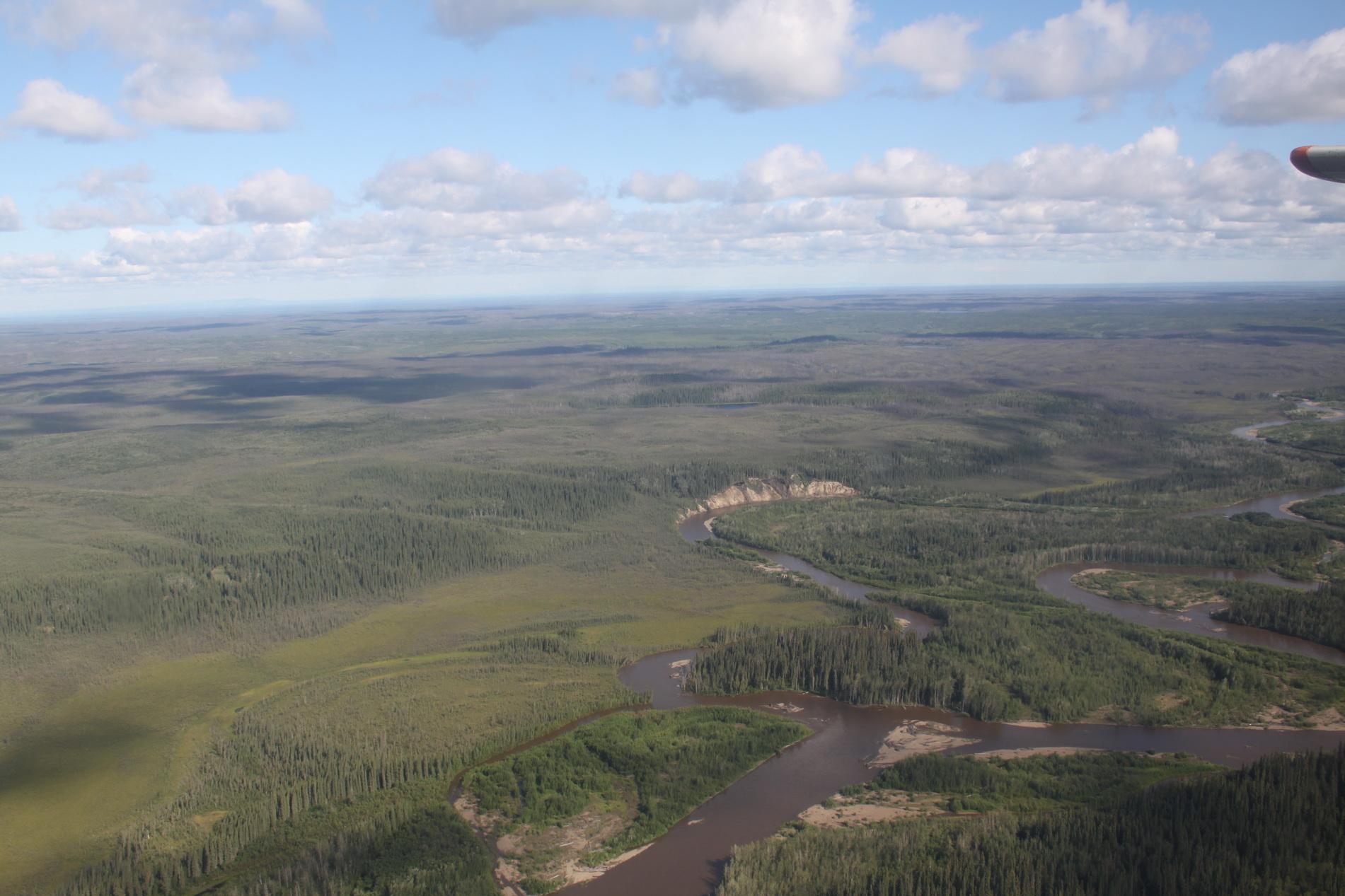 Rückflug nach Fairbanks